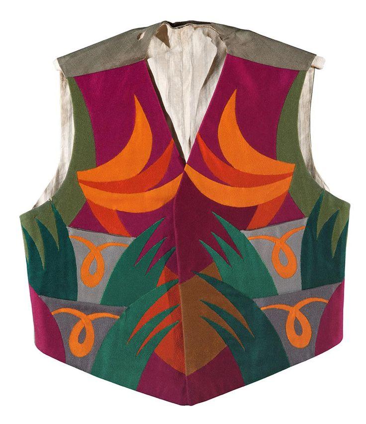 * Futurist waistcoat - Fortunato Depero