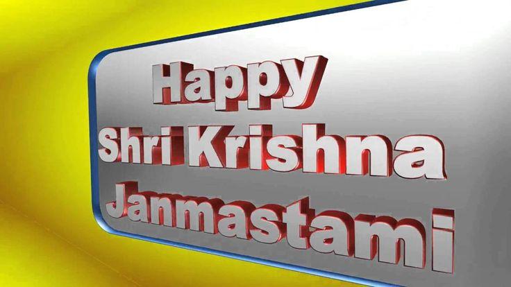 Happy Krishna Janmashtami 2016,Janmashtami,Wishes,Animation,Greetings,Im...