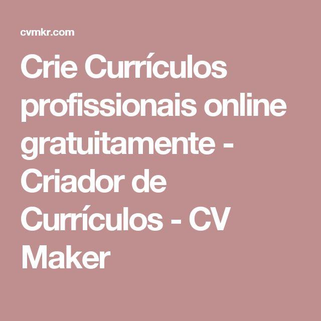 25 unique cv maker ideas on pinterest online cv maker free cv