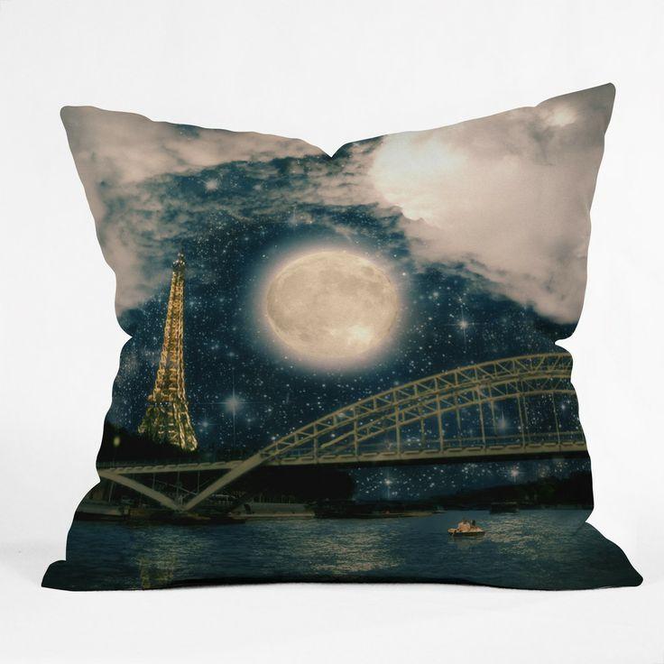 paris romance Outdoor Throw Pillow by belle13