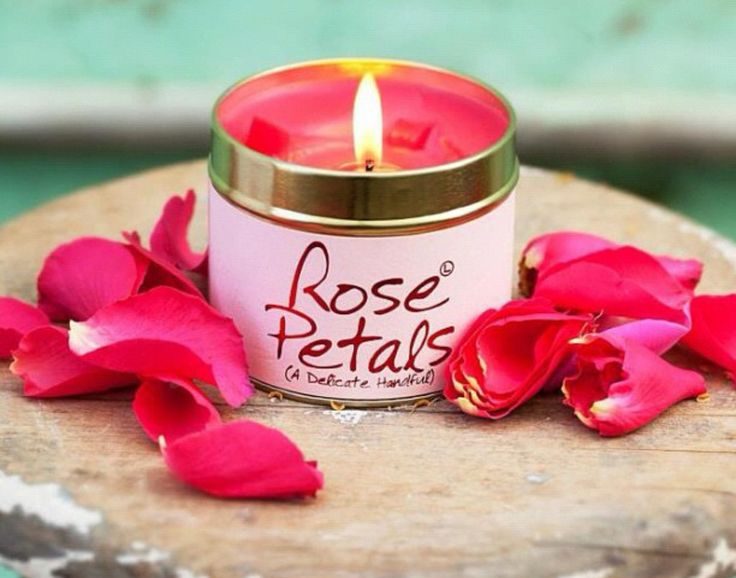 Geurkaarsen - Scented candles - Rose Petals - Lily-flame