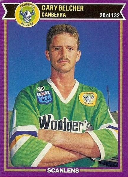 Canberra Raiders legendary fullback Gary Belcher.