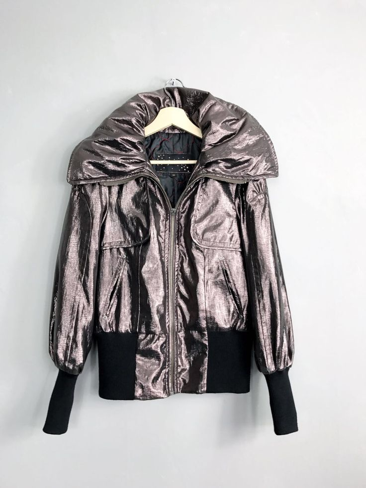 <strong> SPOOM </strong>• Metallicjacke • S / M