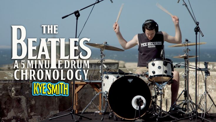 Musician Plays Signature Drum Parts of 71 Beatles Songs in 5 Minutes: A Whirlwind Tribute |  Open Culture