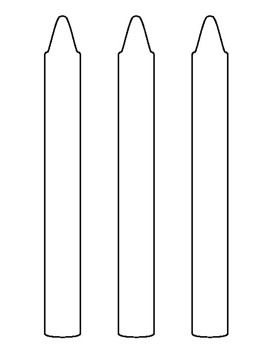 large crayon pattern use the printable outline for crafts creating stencils scrapbooking and. Black Bedroom Furniture Sets. Home Design Ideas