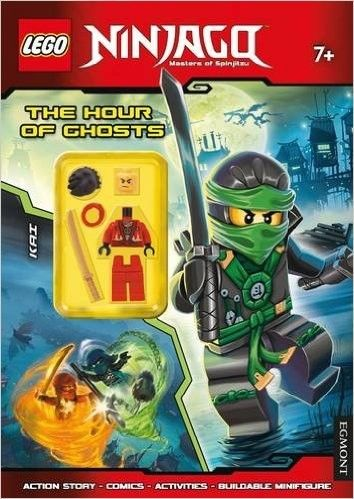 LEGO Ninjago the Hour of Ghosts: Activity Book with Minifigure