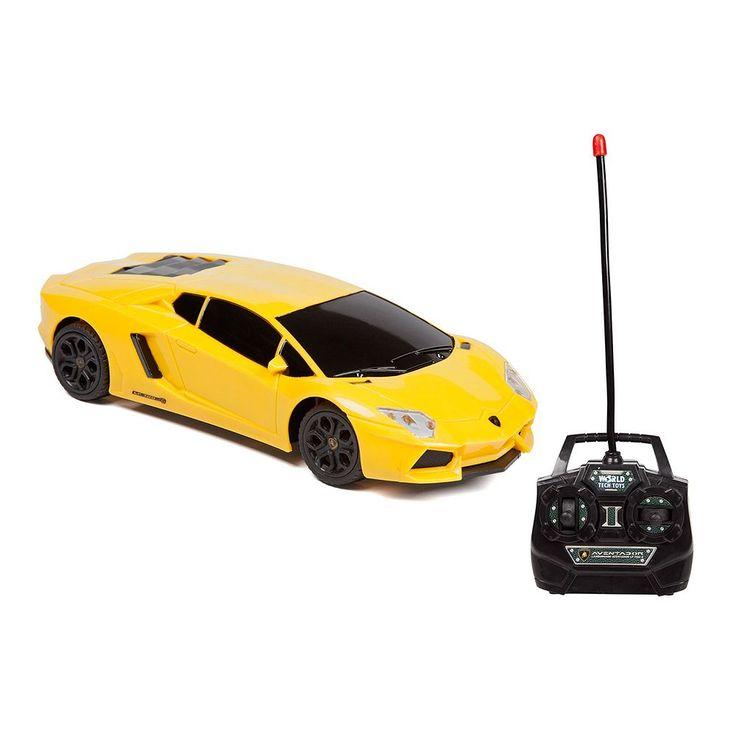 Lamborghini Aventador LP 700-4 Remote Control Car by World Tech Toys, Yellow