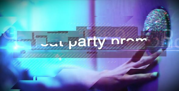 Glitchy Party Promo