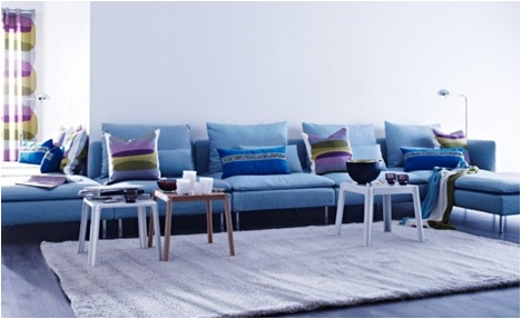 IKEA Oturma Odası: Kalabalık davetlerde en büyük yardımcınız yine IKEA!
