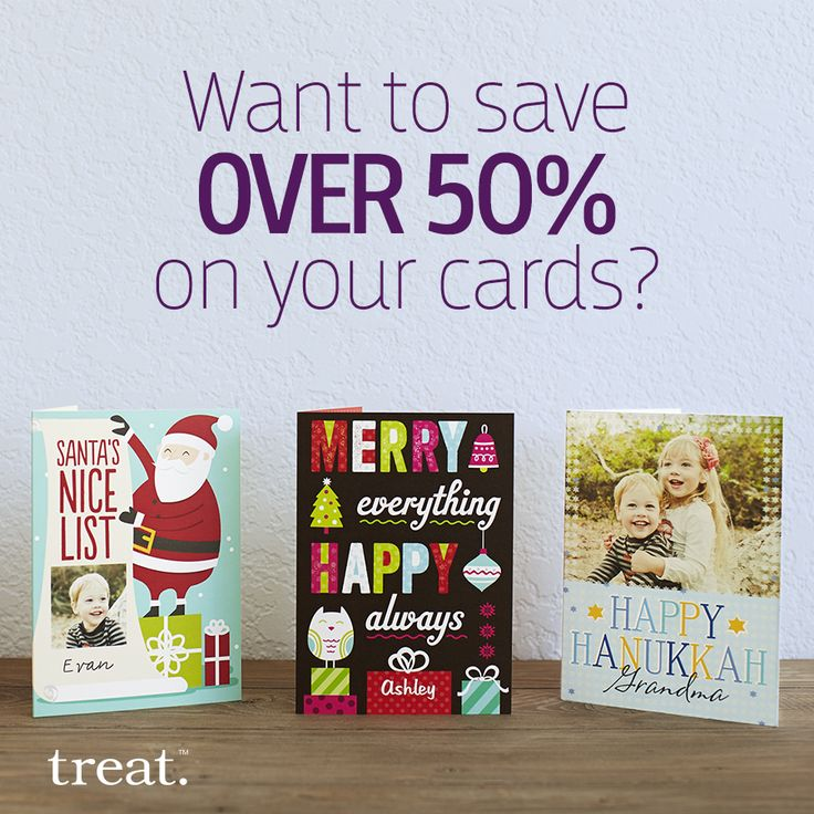 Get a total savings of over 50% when you shop smart. Pick up an 18-card pack from the Treat Card Club and use code SAVECLUB to receive an additional 15% off at checkout. Offer ends 11/16.: Hanukkah Cards, Treats Cards, Thanksgiving Cards, Cards Club, 18 Cards Packs