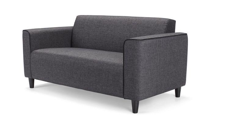 Arthus 2 Seater Sofa, Cygnet Grey | made.com