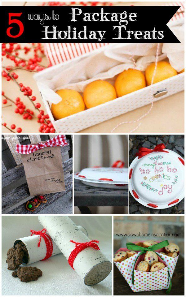 5 easy ways to package holiday treats christmas gift