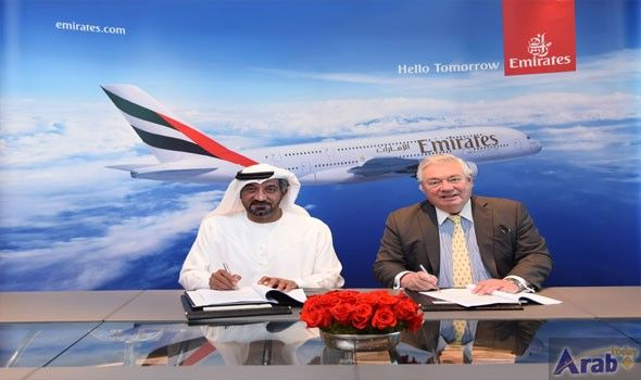 Emirates signs agreement for 36 additional A380s
