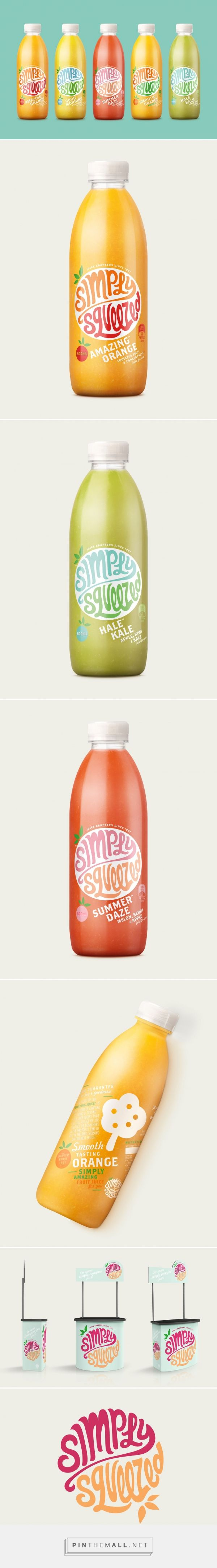 Simply Squeezed Designed by Dow Design | Did someone forget that fruit is fun?