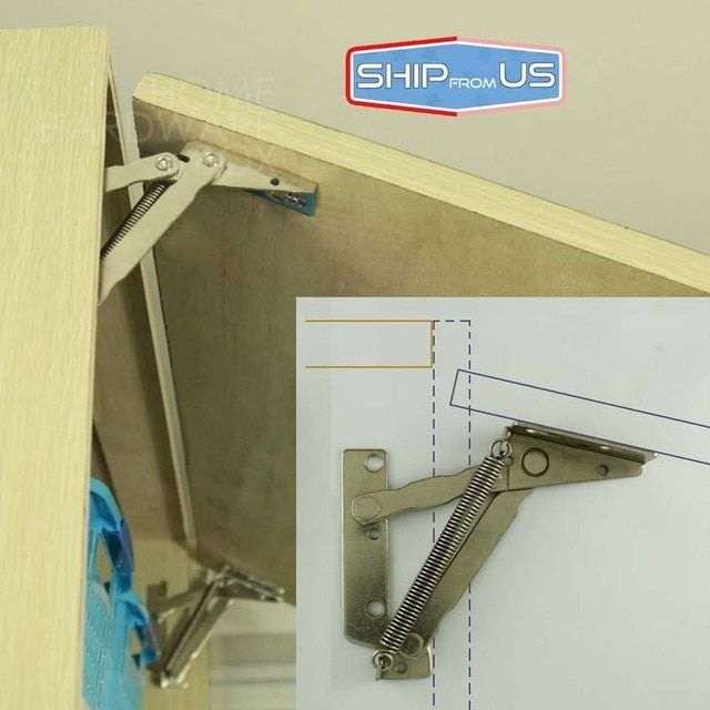 Ship From Us Kitchen Cabinet Door Lift Up Support Spring Hinge