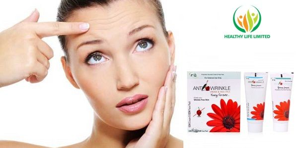Say no more wrinkle with our F2S Anti Wrinkle, 100% herbal.