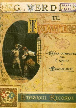 Verdi - Il Trovatore - Then there is the Sydney Opera House production.