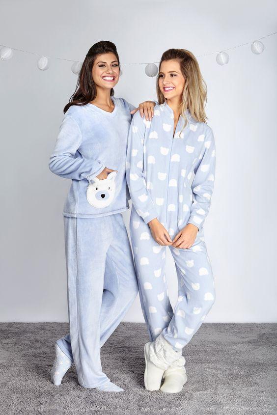 df3fdb56ea624 Женские пижамы: 100+ очаровательных моделей и фасонов | Homewear в ...