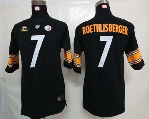 Hot 2012 new nfl jerseys pittsburgh steelers 7 ben roethlisberger yellow  for sale
