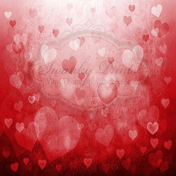 Valentine Hearts Bokeh - Oz Backdrops and Props