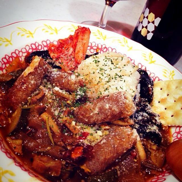 今夜は早い夕ご飯なんで、炭水化物も少し頂きます(≧∇≦) - 108件のもぐもぐ - 今夜は早い夕ご飯!カレー!こんにゃくの竜田揚げ、入り!あれ、クラッカーまでも( ´ ▽ ` )ノ by Tina Tomoko