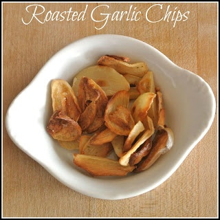 Zero Calorie Life: Zero Calorie Roasted Garlic Chips