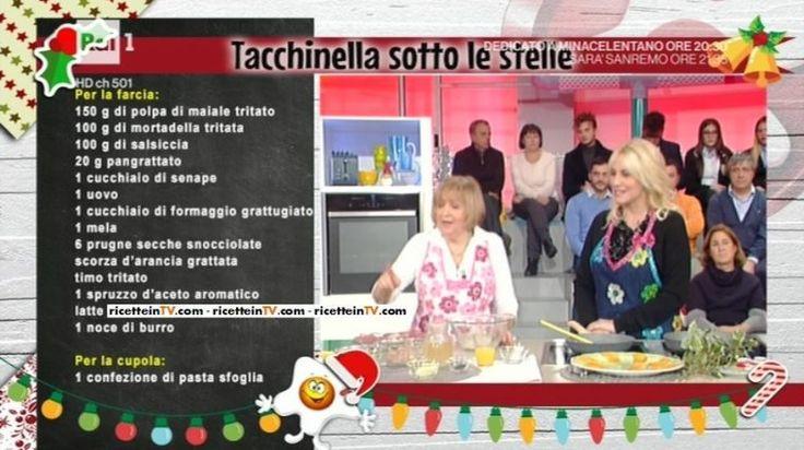 La prova del cuoco   Ricetta tacchinella sotto le stelle di Anna Moroni