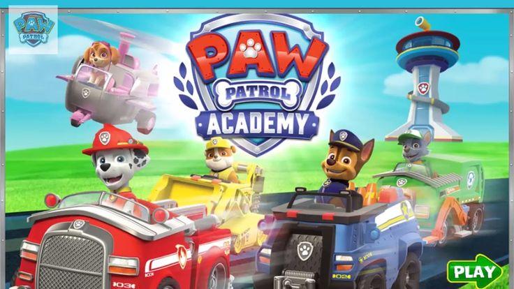 PAW Patrol Academy | Paw Patrol full episodes| Free Preschool Games for Kids | Nick Jr. UK