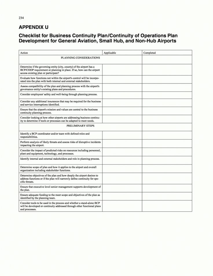 Get Our Image of Disaster Recovery Plan Checklist Template
