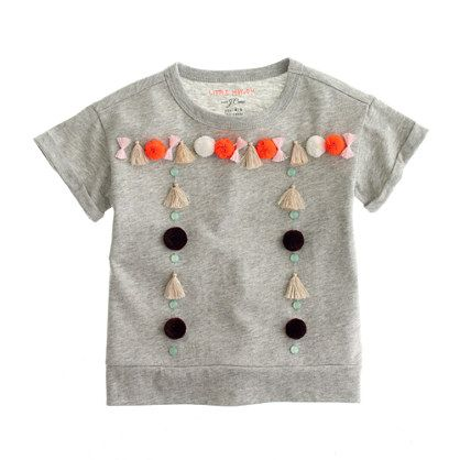 J.Crew - Girls' Little Mayhem for J.Crew tassel tee