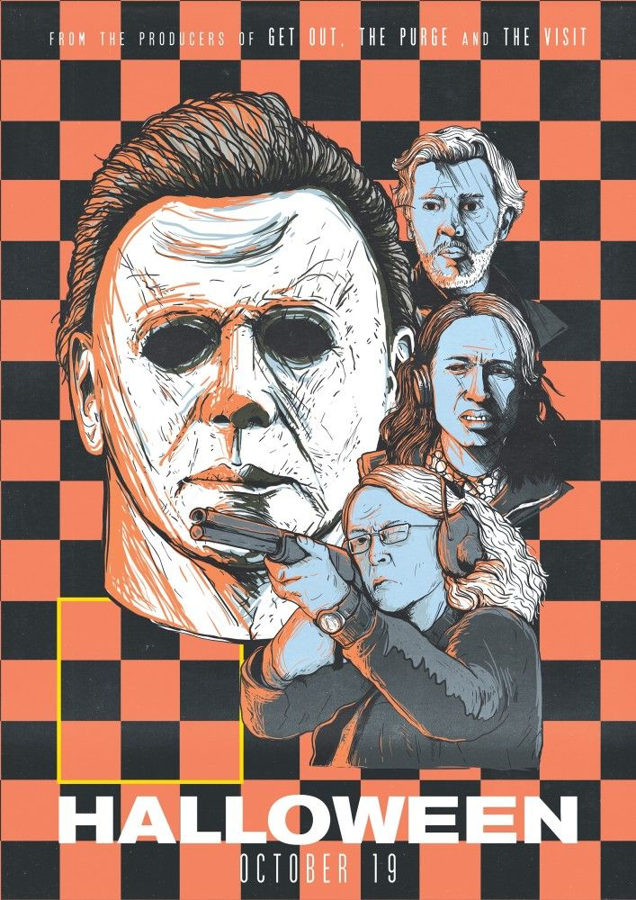 Halloween 2018 Alternative Poster in 2020 Michael myers