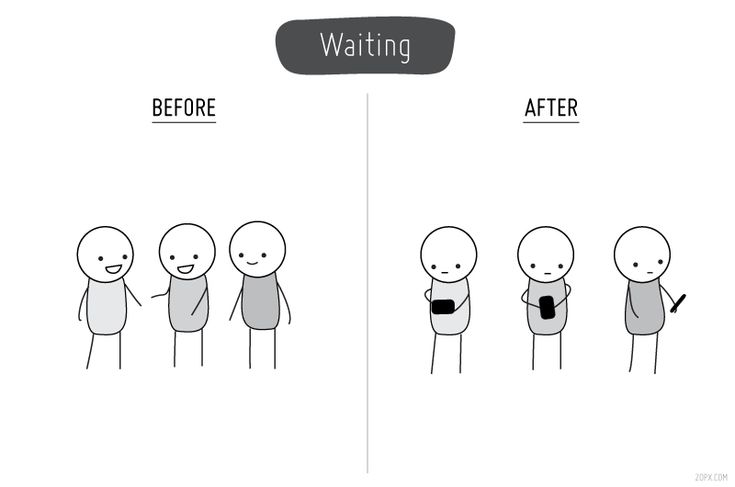 Life Before & After Cell Phones - DesignTAXI.com