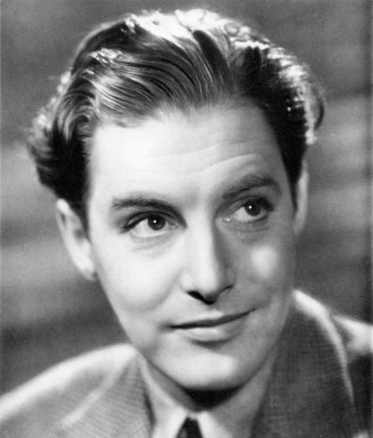 Publicity photo of Robert Donat, late 1930s