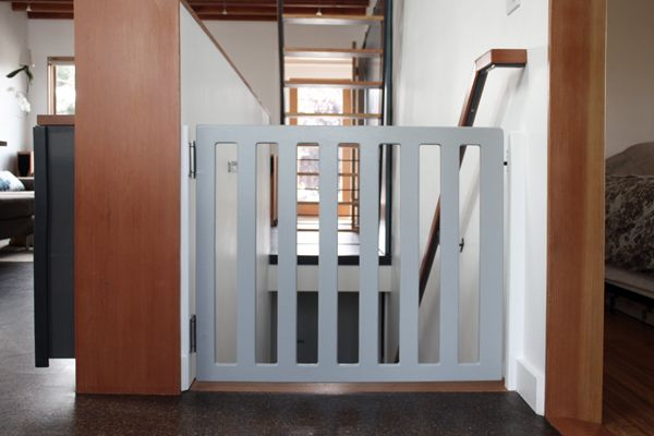 Diy Baby Gate With Self Closing Hinges Woodworking