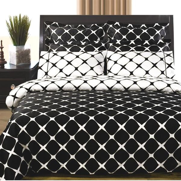 black and white twin xl duvet cover set free shipping
