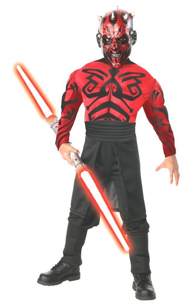 Costumes! Star Wars Deluxe Darth Maul Muscle Chest Costume Adult Standard #RU #Costume