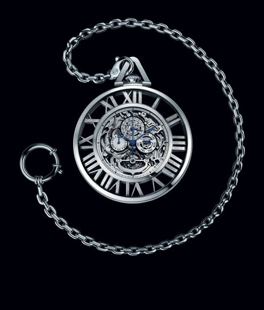 Cartier Montre de poche Grande Complication Squelette