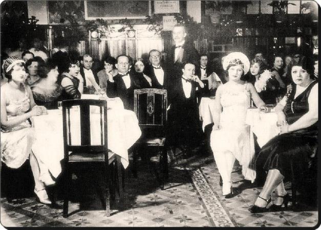 Eski Istanbul - Beyoglu Lokanta 1930 lar