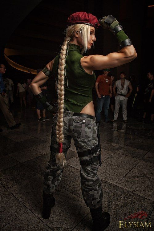 cammy cosplay fighter costume Street