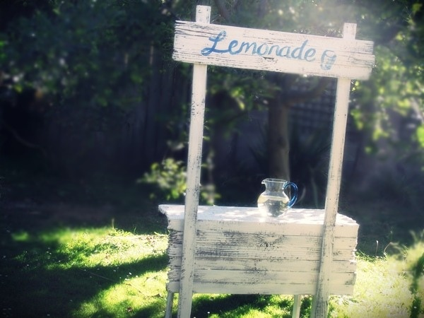 17 best images about carnival party on pinterest for Rustic lemonade stand