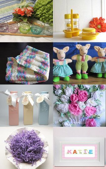 Pastel Gifts by Jennifer Zia on Etsy--Pinned with TreasuryPin.com