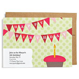 FREE Downloadable Birthday Party Invites - Multiple Themes!