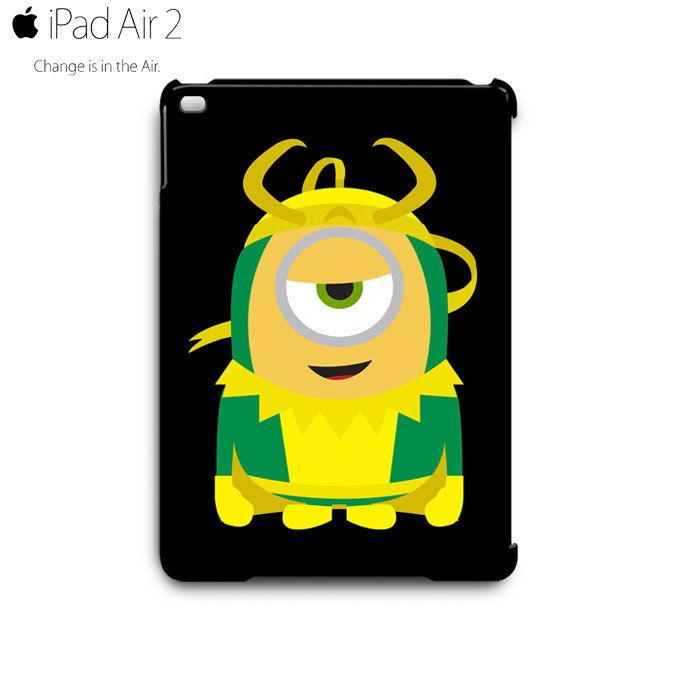 Despicable Me Minion LOKI iPad Air 2 Case Cover Wrap Around