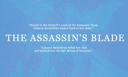 first and last sentences: the assassin's blade
