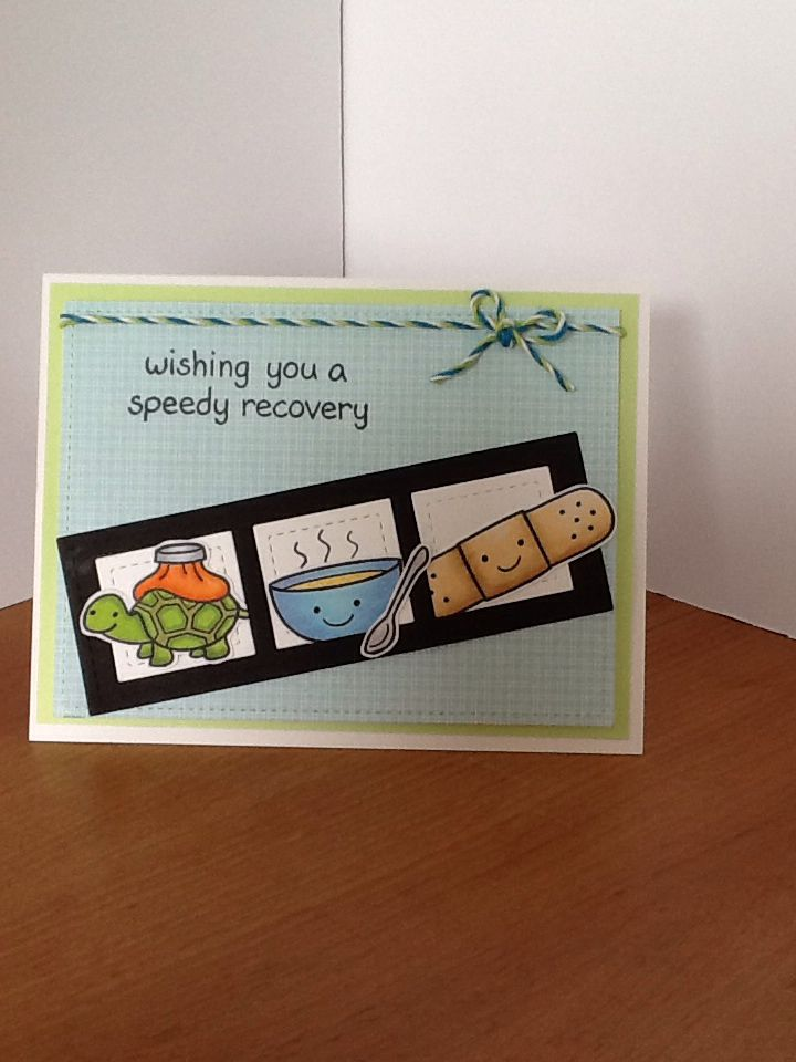 Card Making Inspiration Ideas Part - 44: Lawn Fawn On The Mend