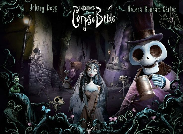 The Corpse Bride, Johnny Depp and Helena Bonham Carter The art director ofCorpse Bride, Nelson Lowry, said in the book,Tim Burton's ...