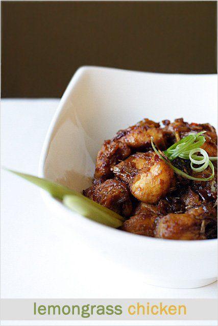 Citroengras Recept van de Kip.  Gewoon de meest aromatische en heerlijke Aziatische kip ooit.  Zo makkelijk te maken en zonder gedoe |  rasamalaysia.com