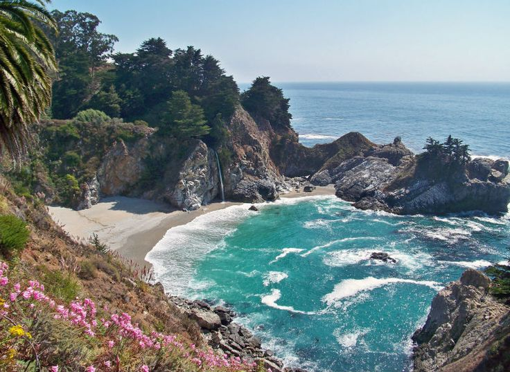 Iconic California Coastal Road Trip from LA to San Francisco - Big Sur on the Pacific Coast Highway