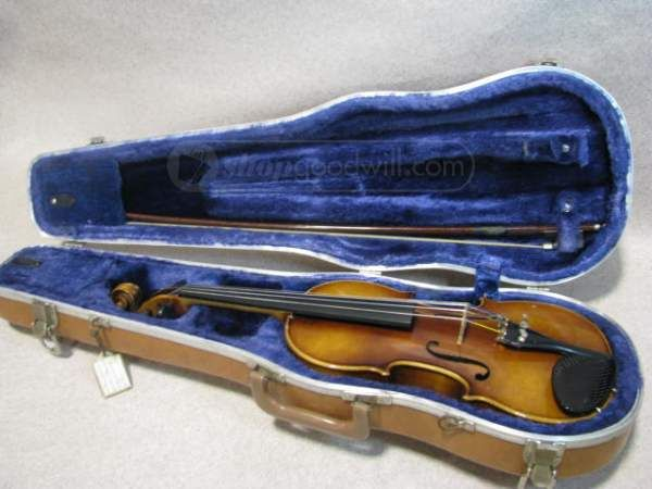 shopgoodwill.com: George Brunner Antonius Stradivarius Violin