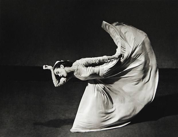 """Barbara Morgan's Martha Graham, Letter to the World (The Kick), 1940. """"This is my letter to the world, That never wrote to me,  The simple news that Nature told, With tender majesty...""""  From """"This Is My Letter to the World"""" by  Emily Dickinson"""